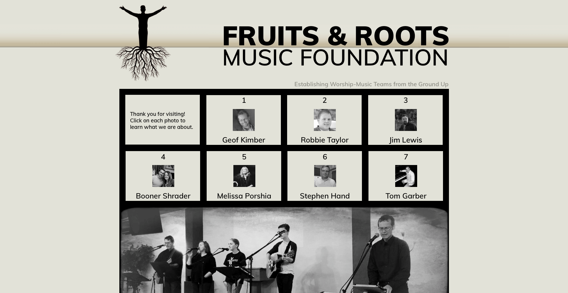 Fruits & Roots Website